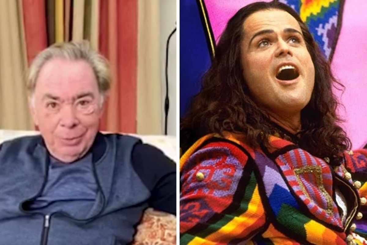 Andrew Lloyd Webber just announced that he is airing Broadway shows for free online