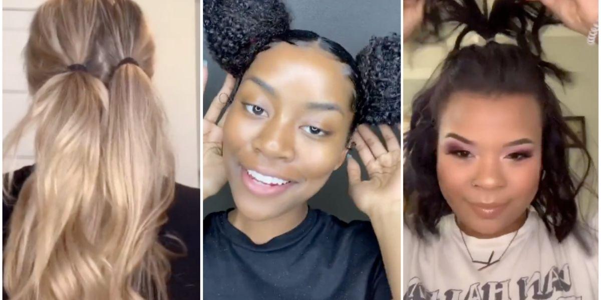 5 Actually Genius TikTok Hair Tutorials