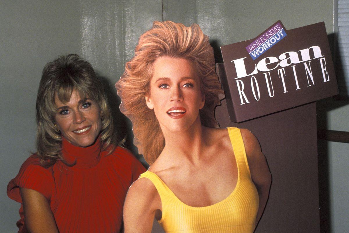 Jane Fonda Takes Her VHS Workout Tapes to TikTok