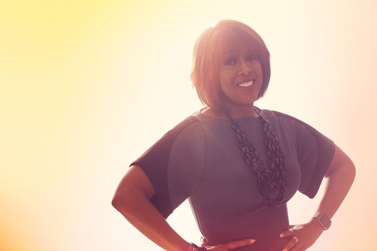 Gayle King of CBS This Morning