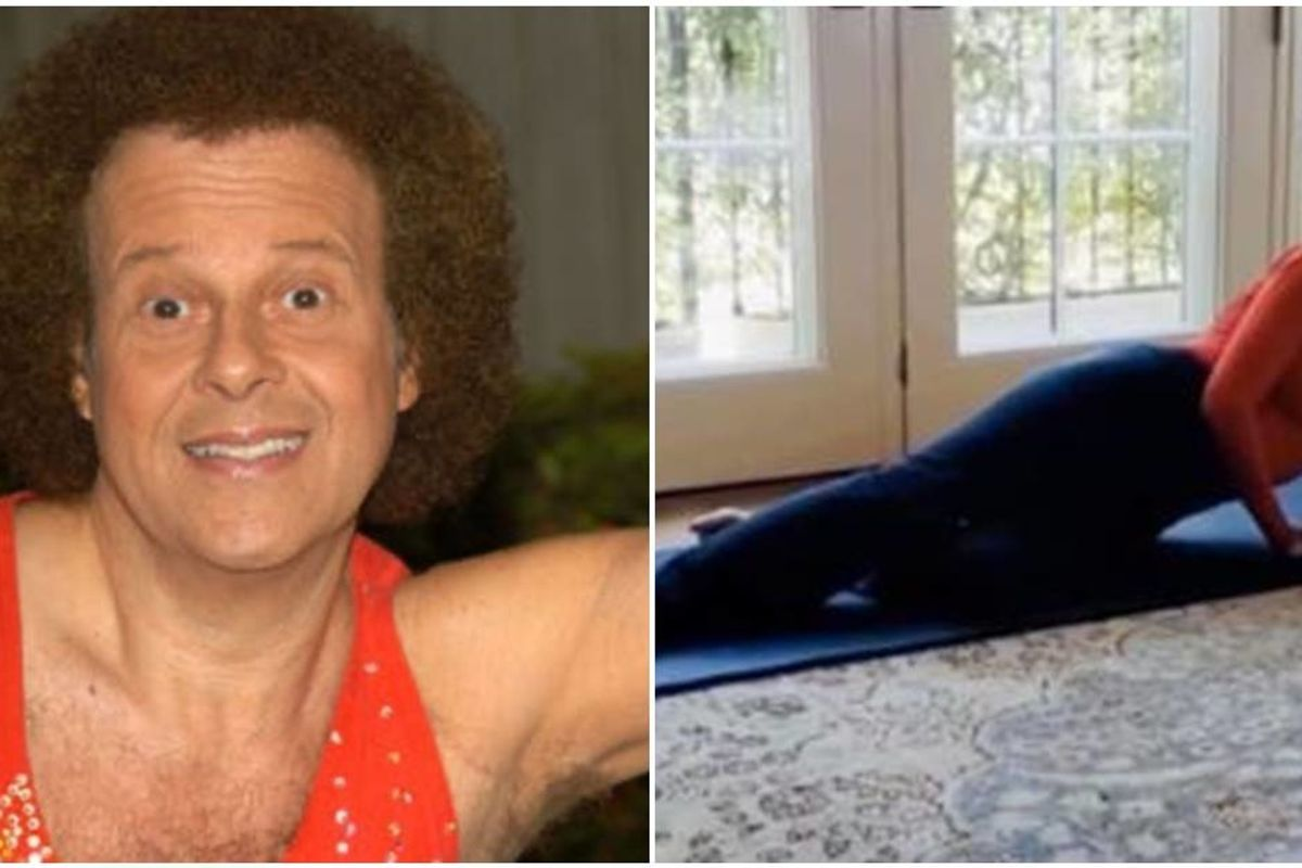Jane Fonda and Richard Simmons are back to help you stay fit while social distancing at home