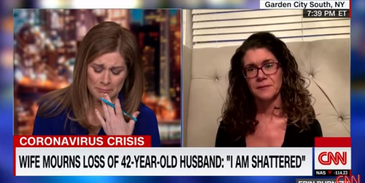 Grieving widow describes final moments with her husband over Facetime as he died of coronavirus
