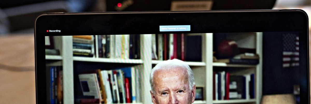 It took two months, but Joe Biden has endorsed Trump's China travel ban