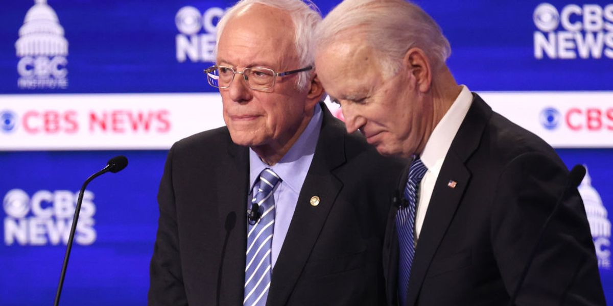 Biden claims he told Bernie that he is forging ahead with picking a running mate