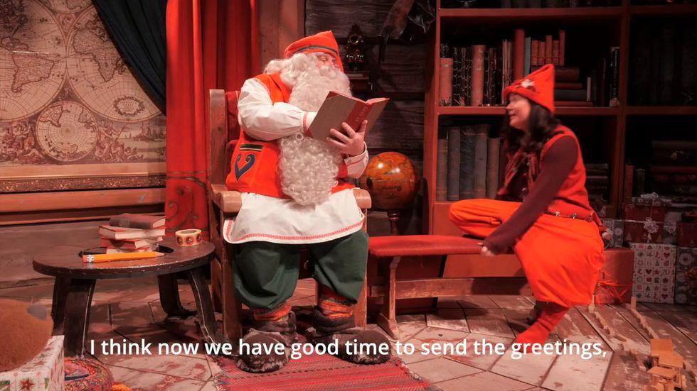 Andrà tutto bene: parola di Babbo Natale