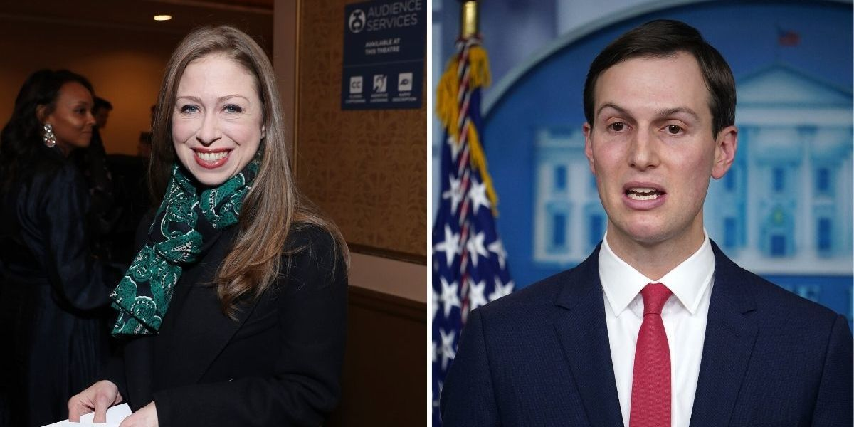 The Shade That Chelsea Clinton Just Threw At Jared Kushner's Pandemic Response Role Is As Depressing As It Is Epic