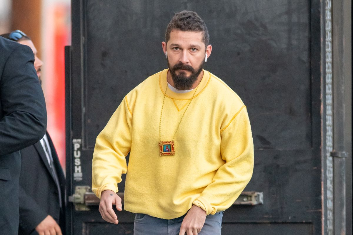 Shia LaBeouf Is the Style God We Need Right Now