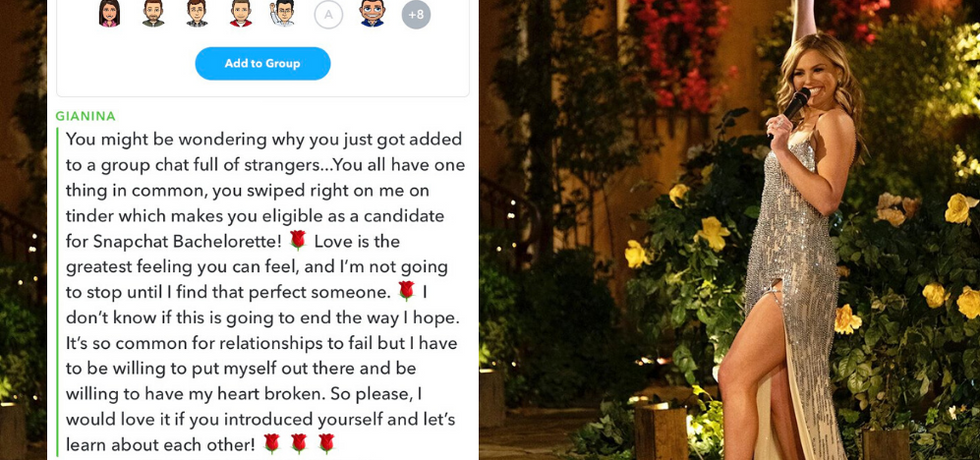 People Are Playing 'Snapchat Bachelorette,' And It's Ridiculous — But Also Amazing