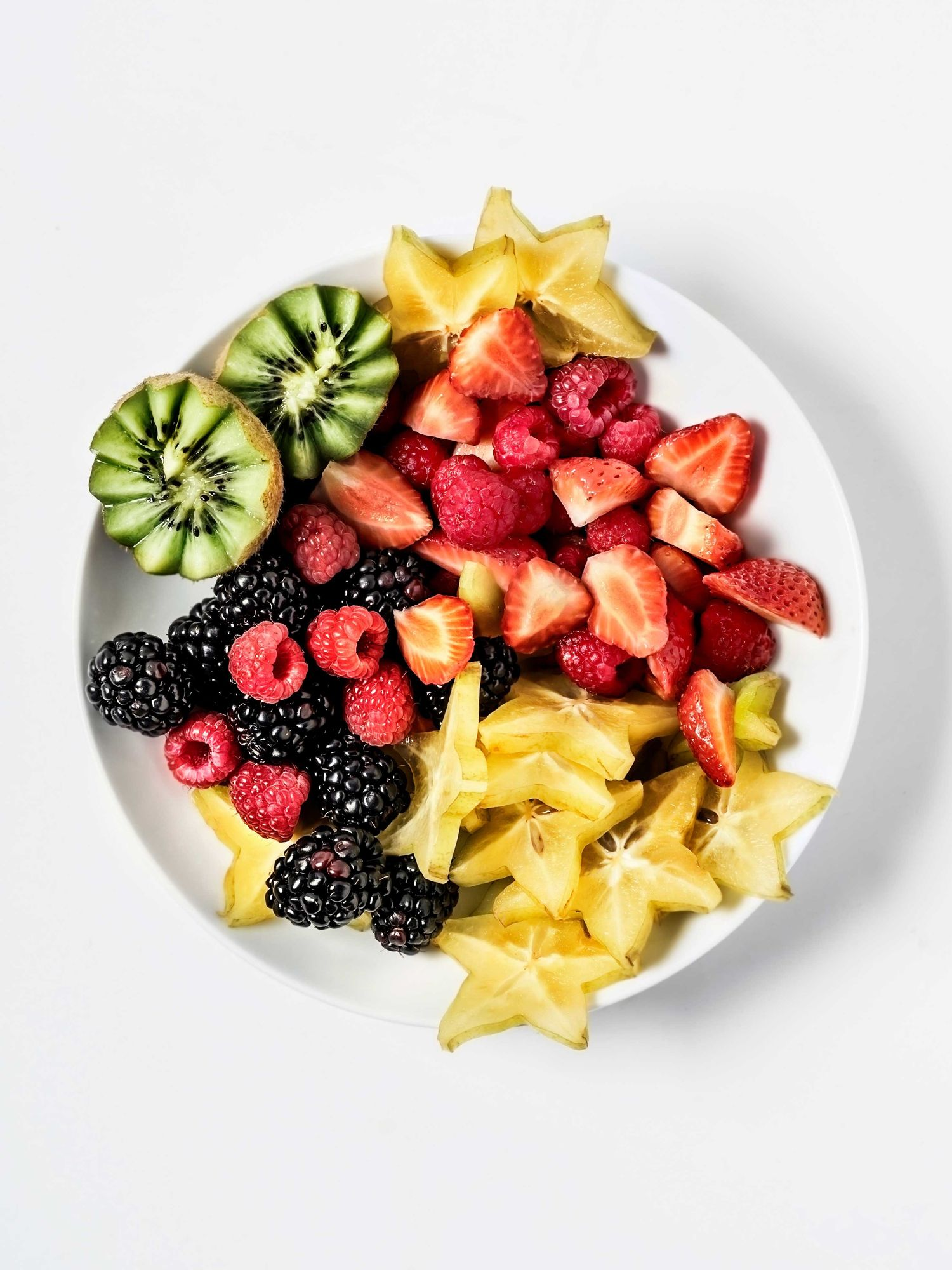 Stock image of a bowl of fruit.