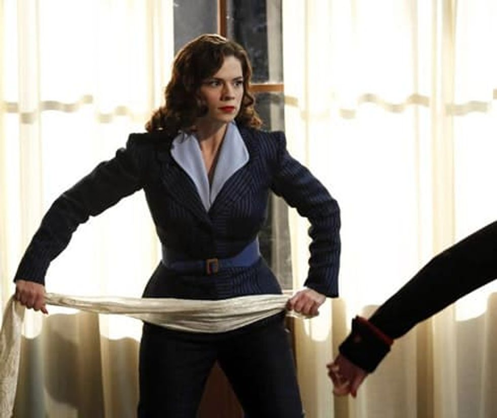 Agent Carter Another Butt Kicker In The Marvel Cinematic Universe Black Belt Magazine