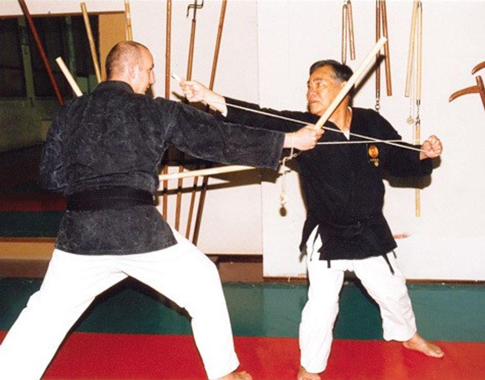 Modern Training With Traditional Okinawan Weapons Courtesy Of Andrea Guarelli And Matayoshi Kobudo Black Belt Magazine