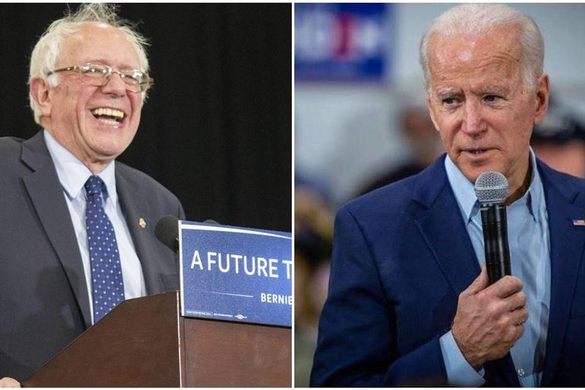 Joe Biden wrote a heartfelt letter to Bernie Sanders and his supporters
