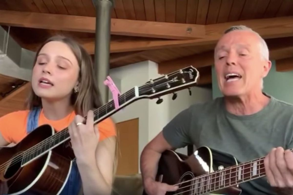 Tears for Fears singer performs 'Mad World' with his daughter, and it's hauntingly gorgeous