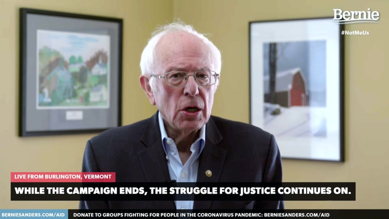 Bernie Sanders, Candidate With Most Ambitious Climate Plan, Drops out of 2020 Race