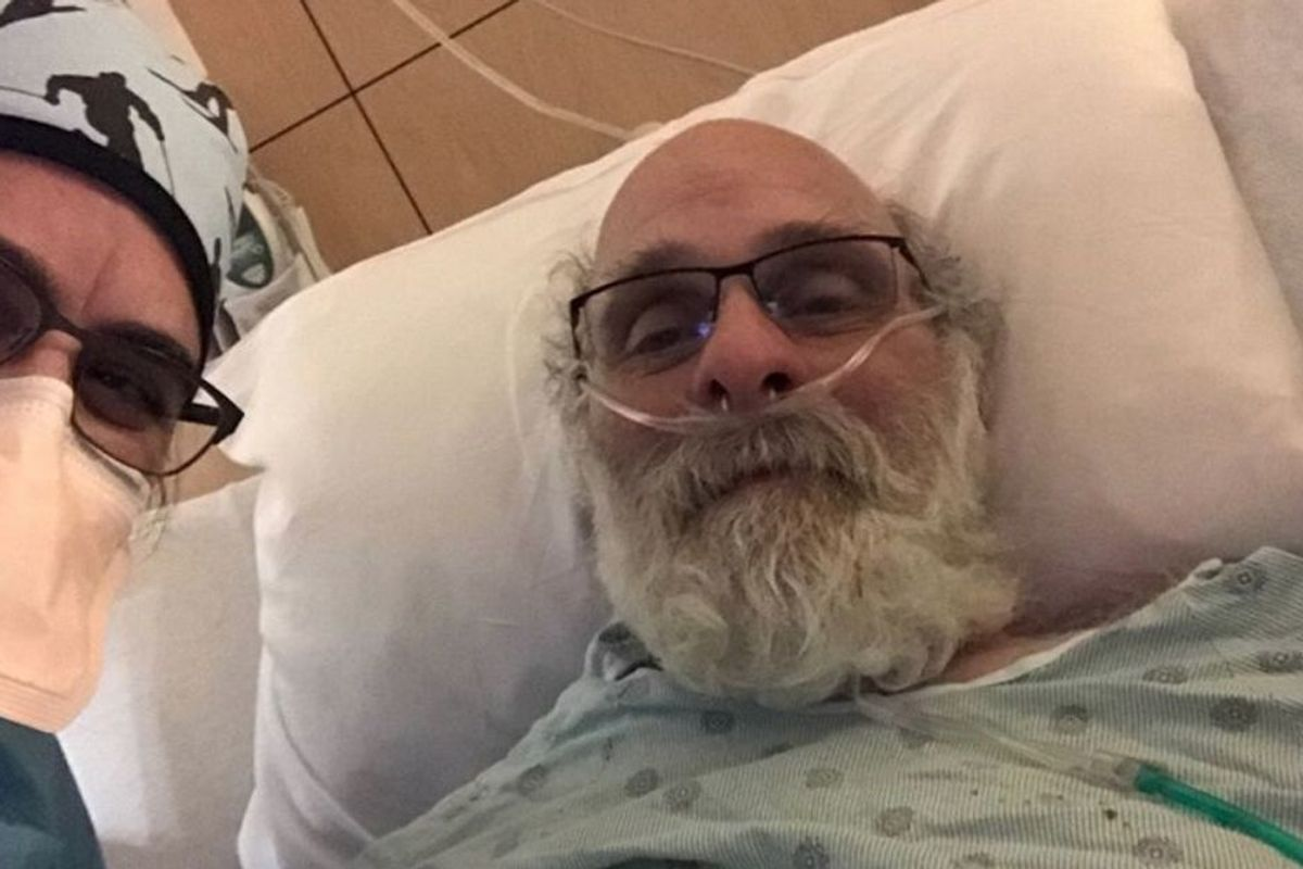 An ER doctor shared one patient's COVID-19 recovery story, and it's genuinely beautiful