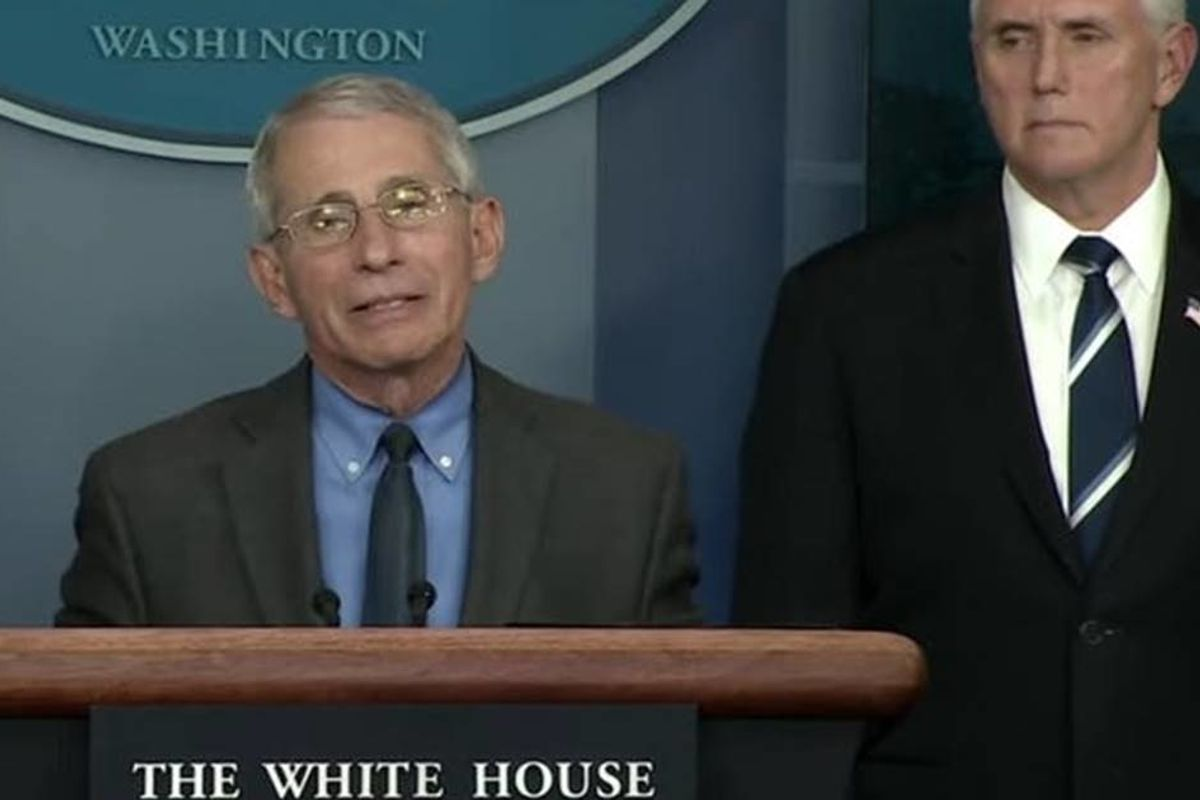 Dr. Fauci had zero problems criticizing homophobia right in front of Mike Pence
