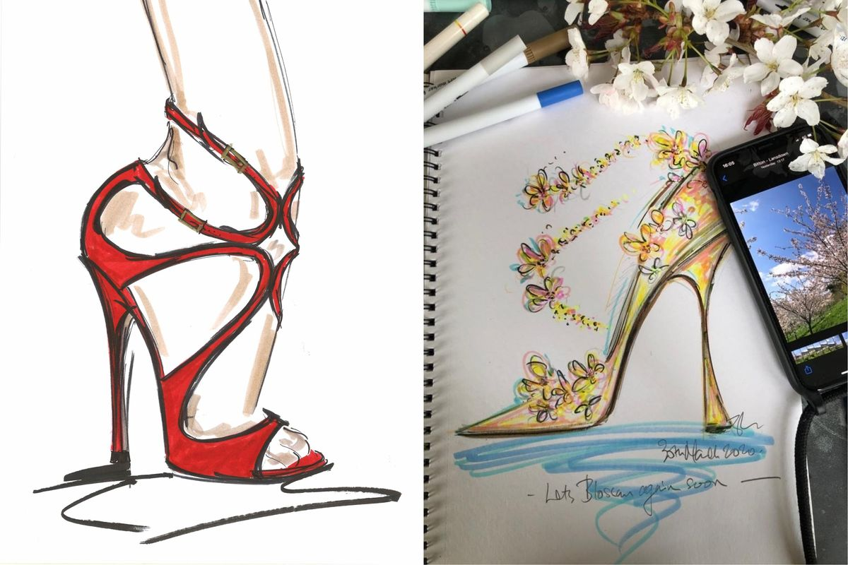 Jimmy Choo Wants to Bring Your Fantasy Shoe Sketch to Life