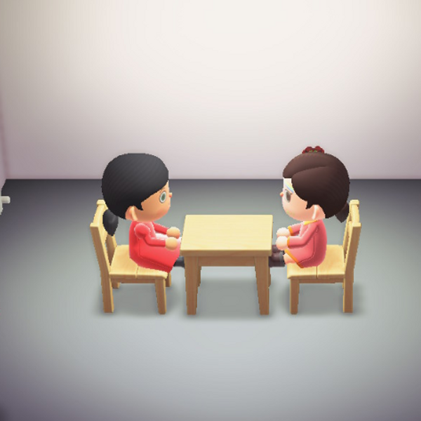 Sit Across From Marina Abramović in 'Animal Crossing'