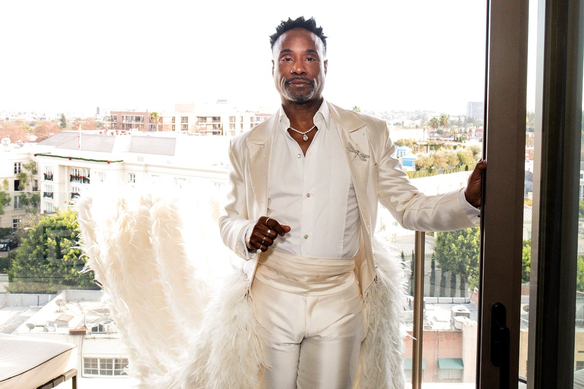 Billy Porter's At-Home Fashion Challenges Will Get You Through Quarantine