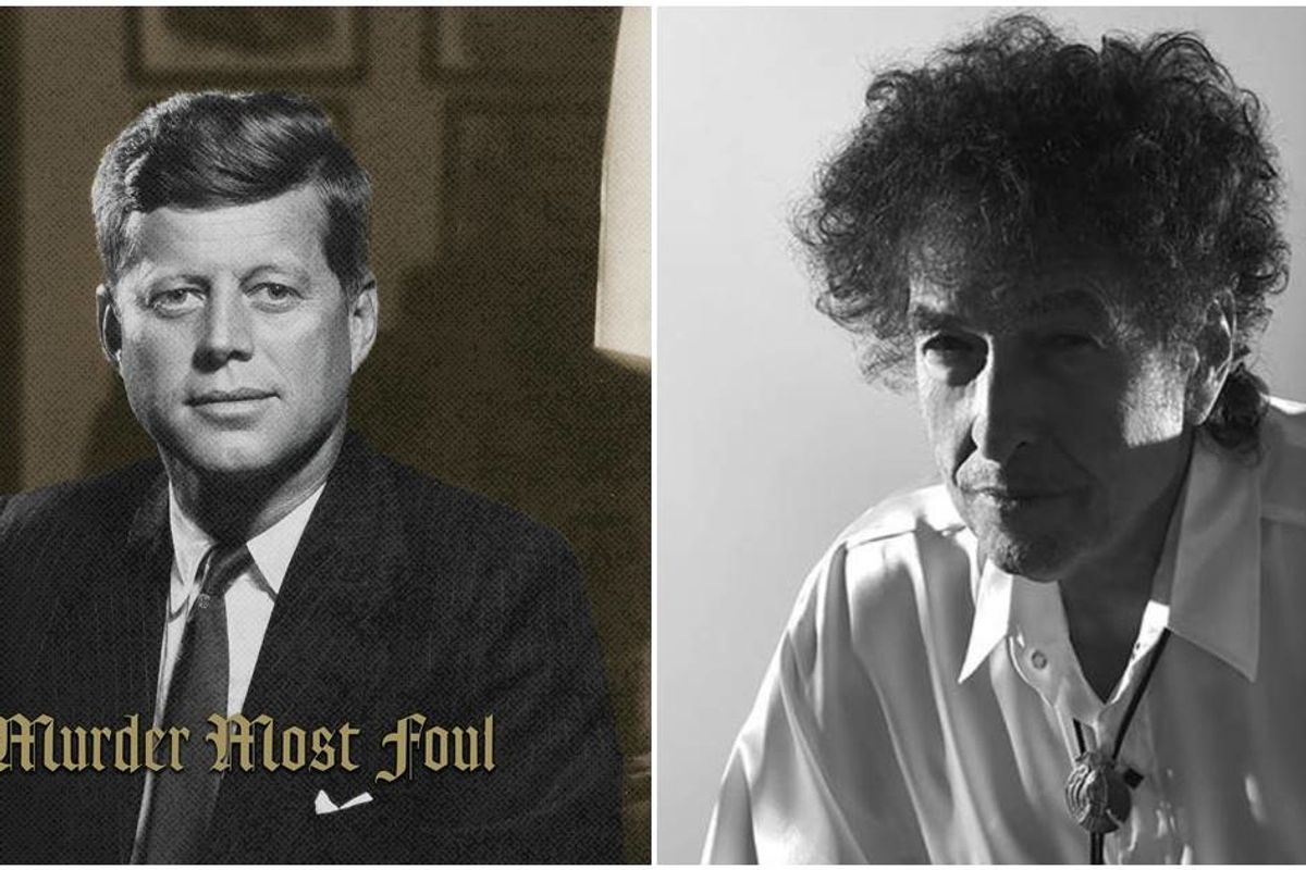 Bob Dylan just scored his first-ever number 1 hit: a 17-minute song about the Kennedy assassination