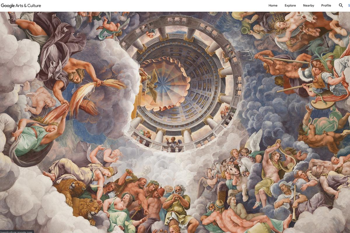 Google omaggia il Belpaese con un tour virtuale dell'arte