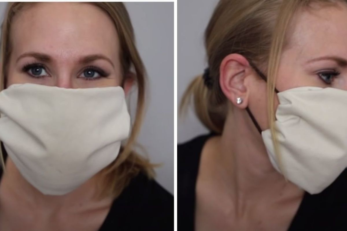 How to make your own CDC-approved masks at home with zero sewing involved