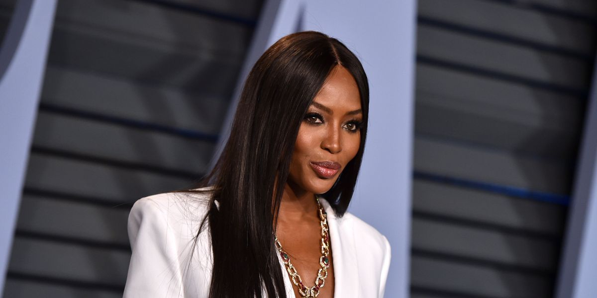 Naomi Campbell Recreated Her Iconic 'Check Your Lipstick' Line