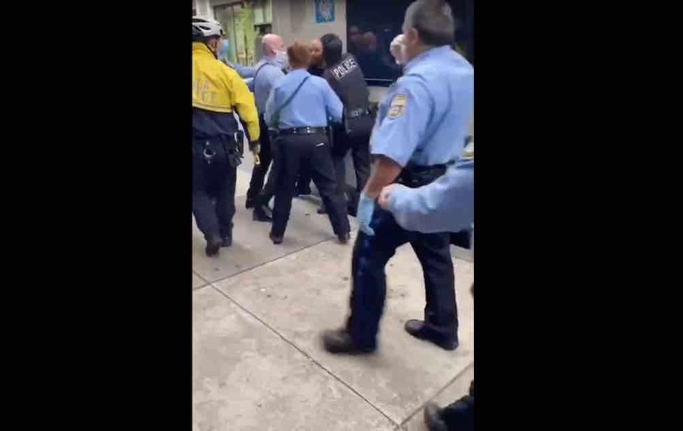 After video goes viral of cops dragging man off Philly bus reportedly for not wearing mask, transit authority does about-face