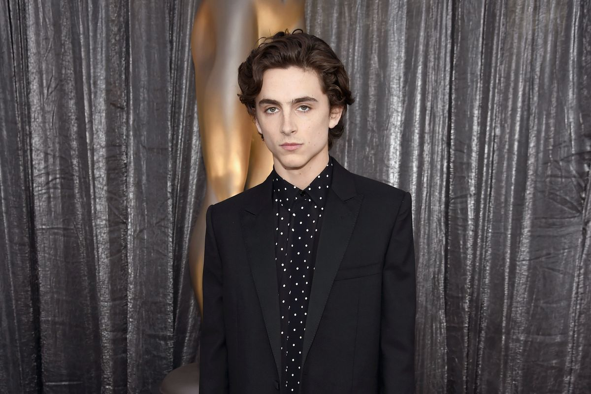 'Dune' Timothée Chalamet Is a Huge Vibe