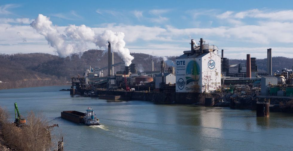 US Steel Clairton Coke Works air pollution