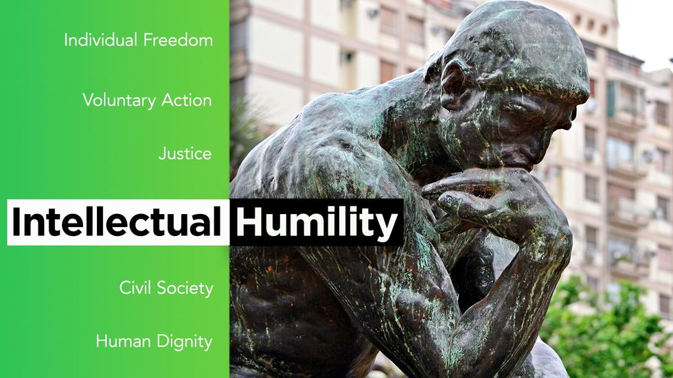 How does intellectual humility unlock greater knowledge?