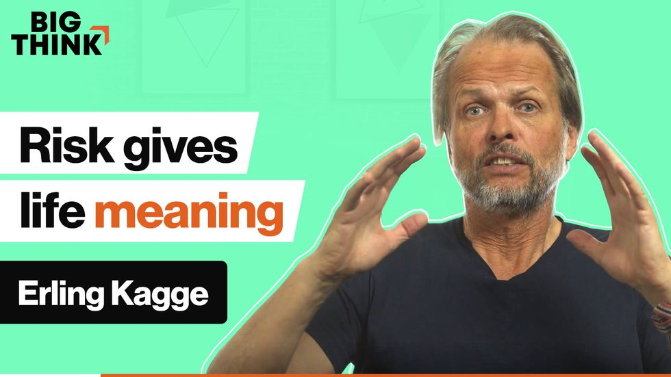 Polar explorer Erling Kagge: Why risk makes life meaningful