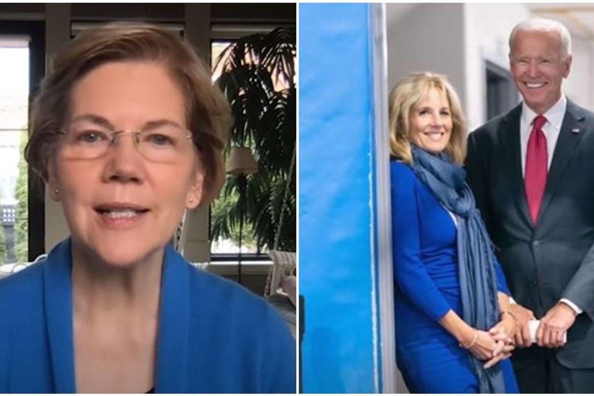 'Empathy matters': Elizabeth Warren endorses Joe Biden for president