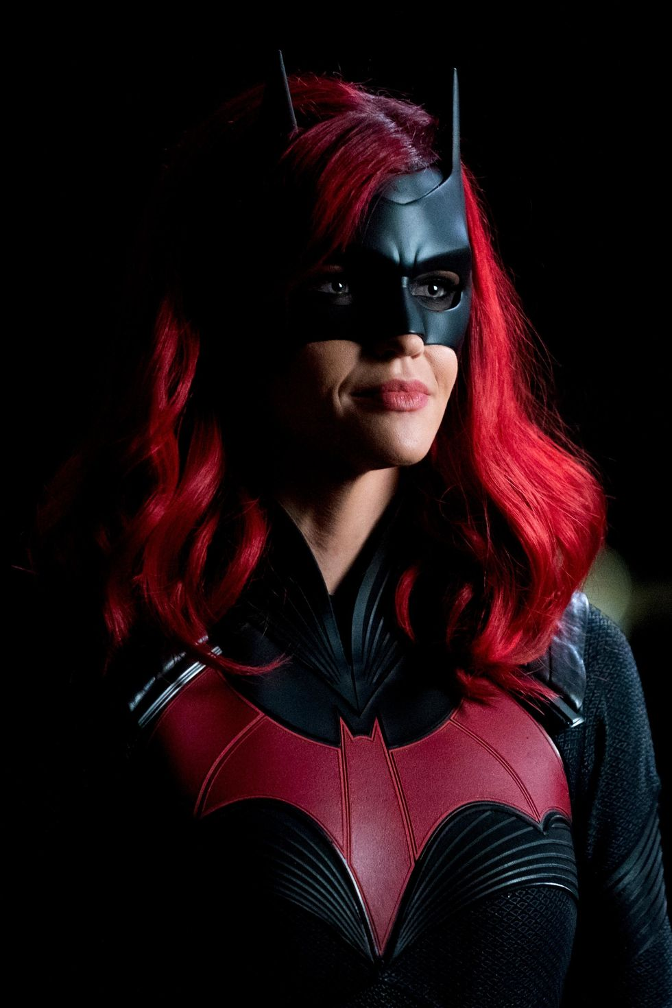 Ruby Rose as Batwoman on The CW TV series.