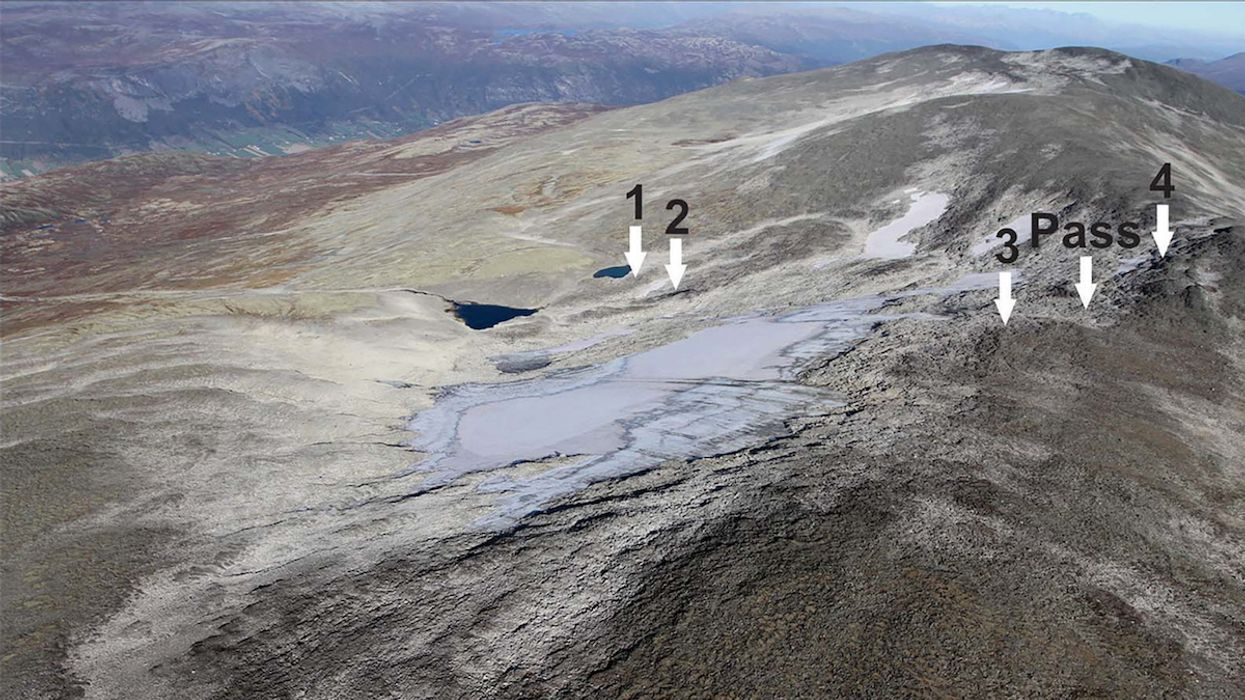 Melting Ice Reveals Viking Highway and Artifacts