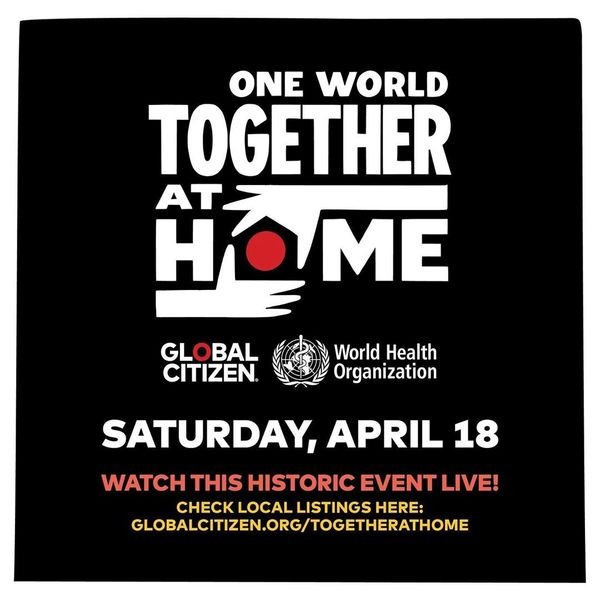 How to Watch Global Citizen's 'One World: Together At Home'