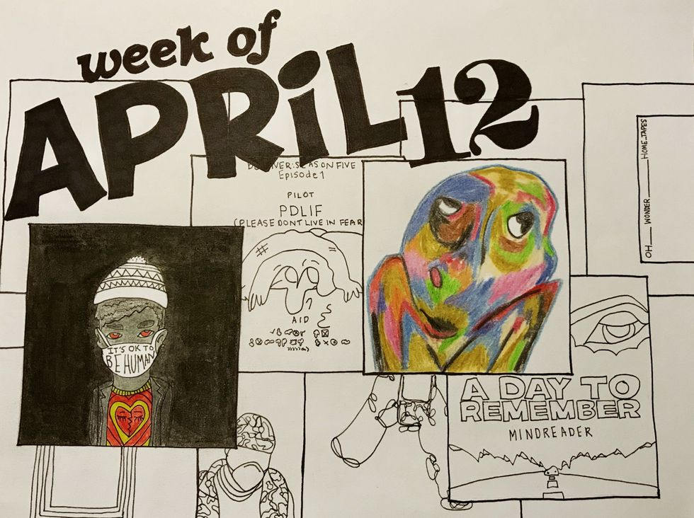 Press Pause And Hit Play: Week Of April 12