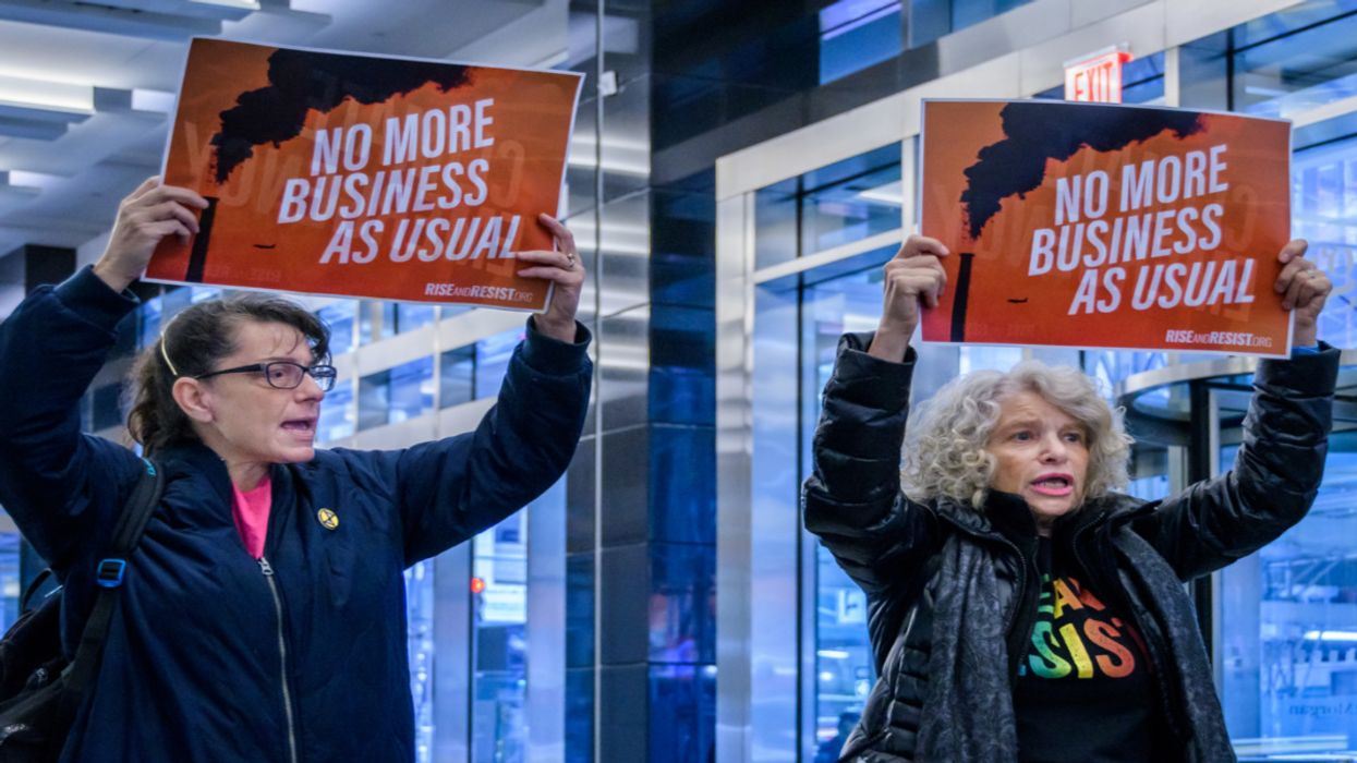 NYC Looks at Shaming Fossil Fuel Financiers