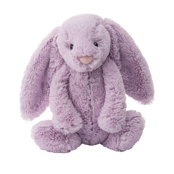 Purple plush bunny rabbit