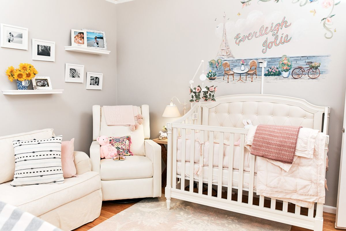The nursery of soap stars Kelly Kruger and Darin Brooks.