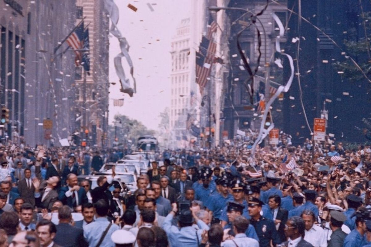 NYC will throw a huge ticker-tape parade for healthcare workers after the pandemic ends