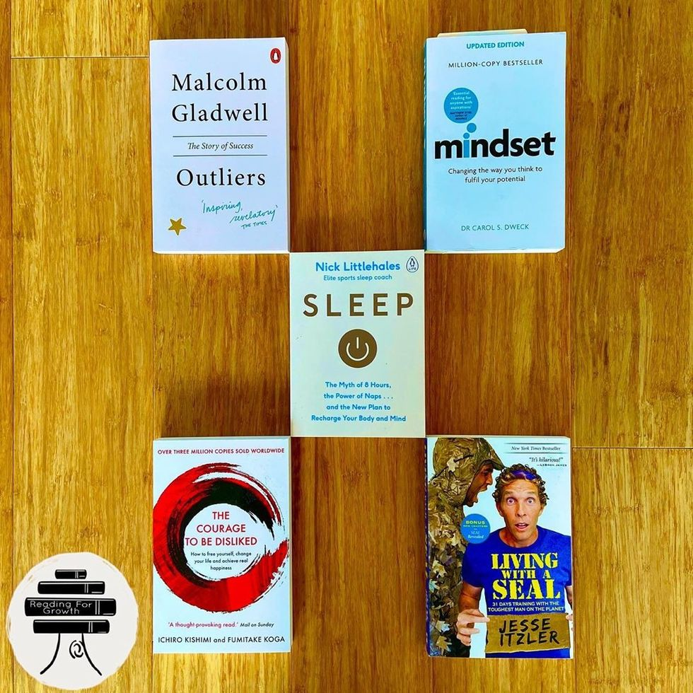 I Read 6 Self Improvement Books This Month So Far