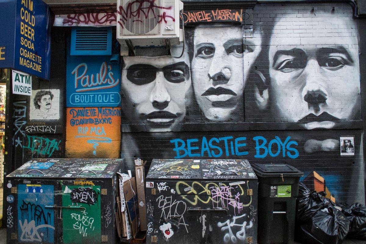 Kim Gordon, Bill McMullen Reimagine Beastie Boys Album Art for Opening Ceremony