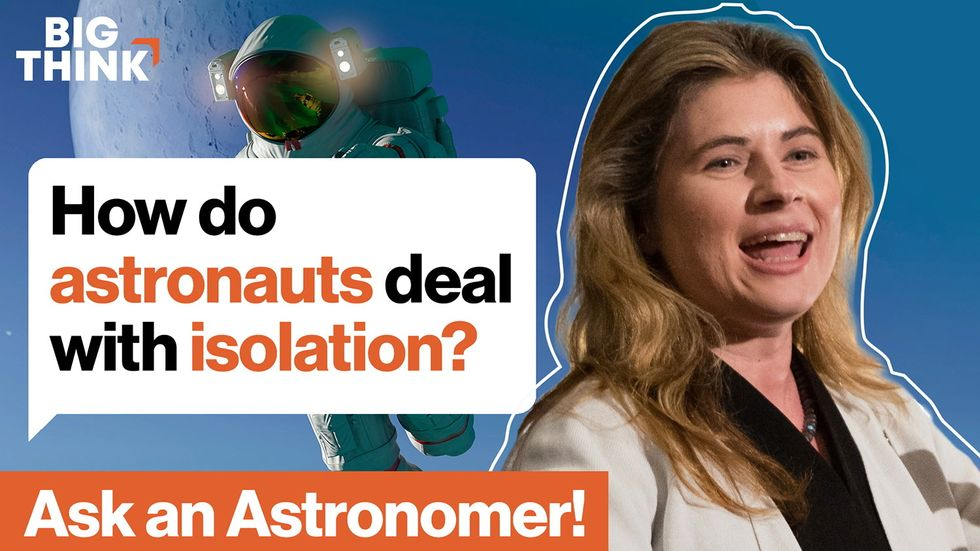 Ask an astronomer: How do astronauts deal with isolation?