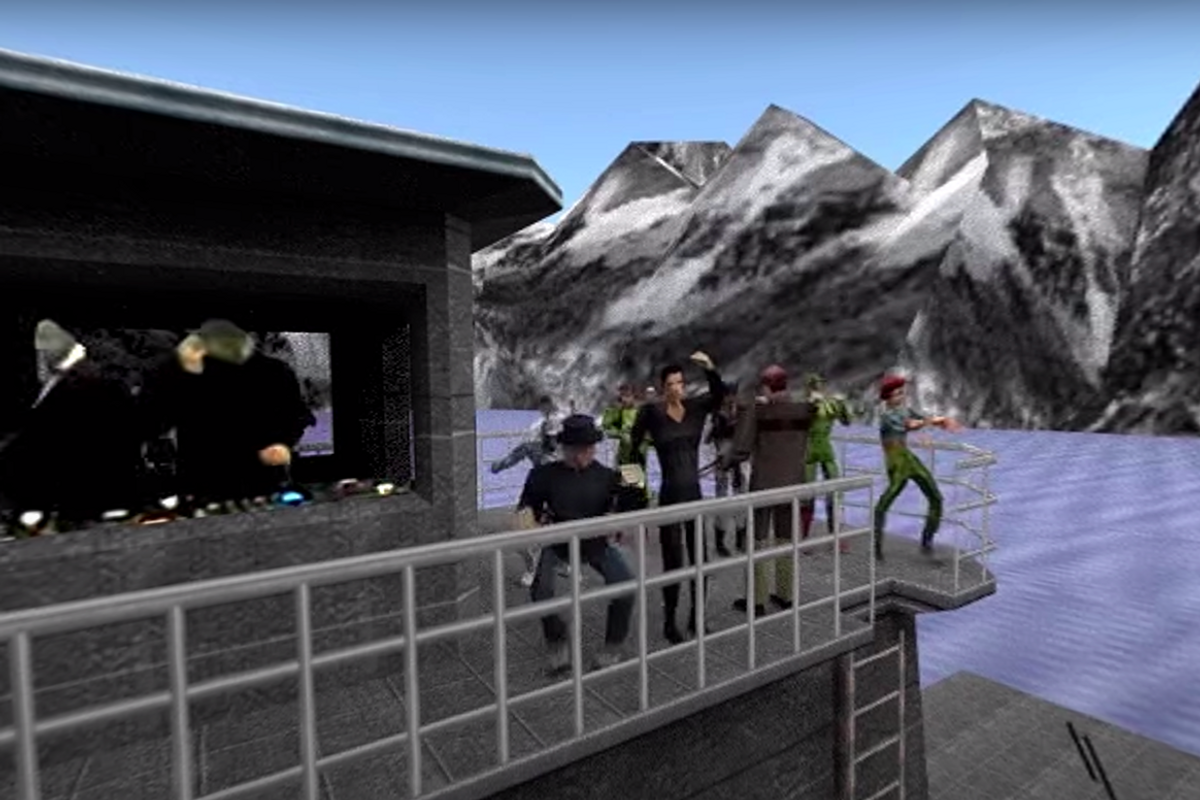 Iconic Video Games Are Being Turned Into Virtual Stages