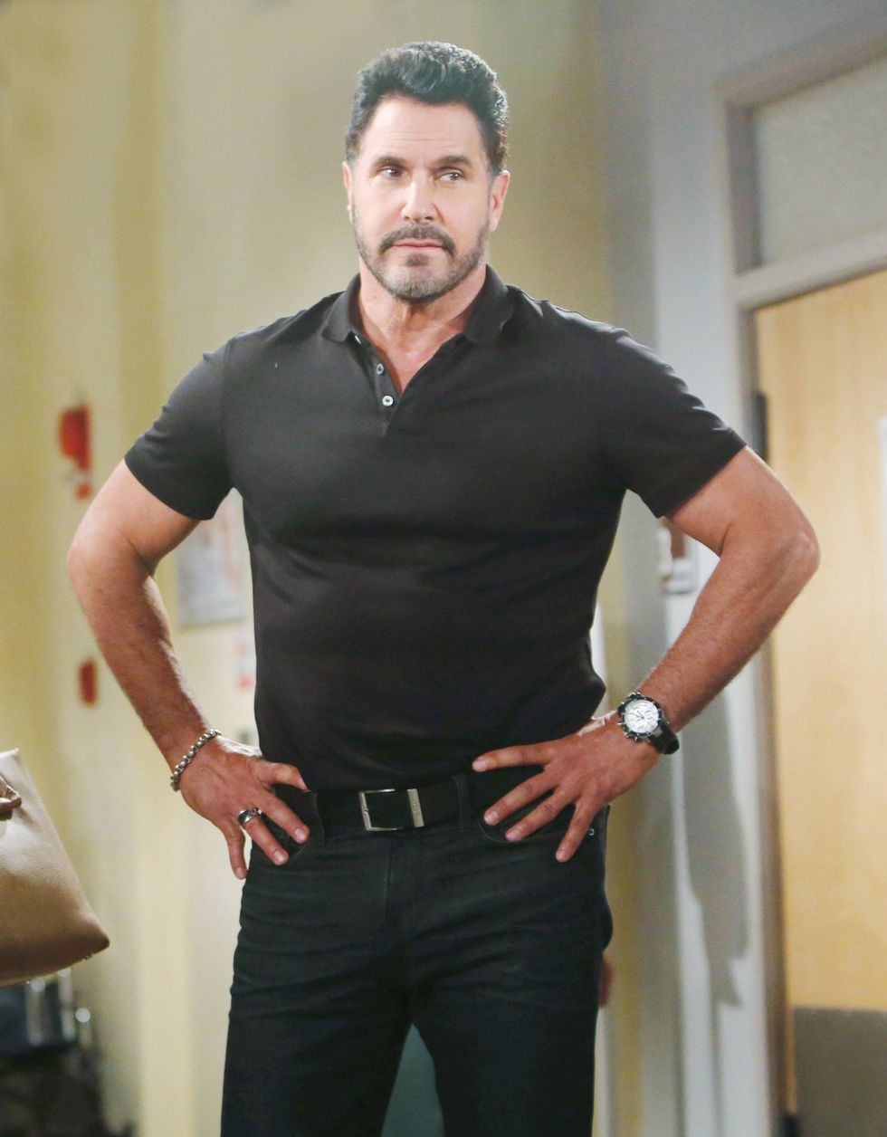Don Diamont on soap opera The Bold and the Beautiful.