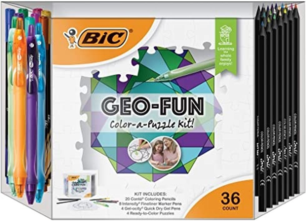 BIC color your own puzzle