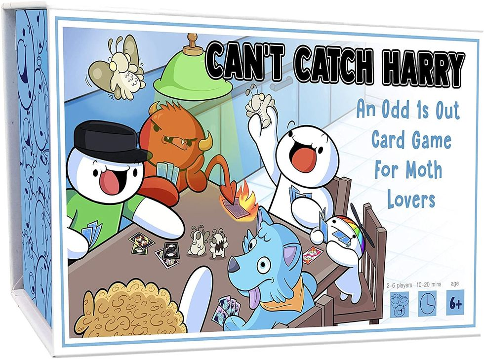 Can't Catch Harry card game