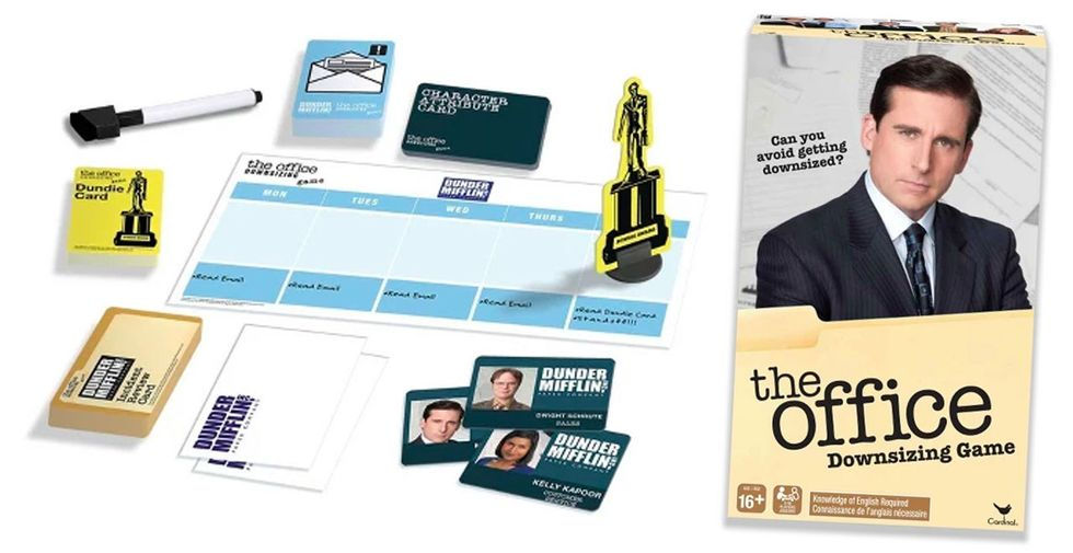 The Office: Downsizing board game