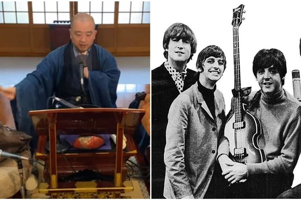 Buddhist monk's cover of The Beatles' 'Yellow Submarine' is the moment of zen you deserve